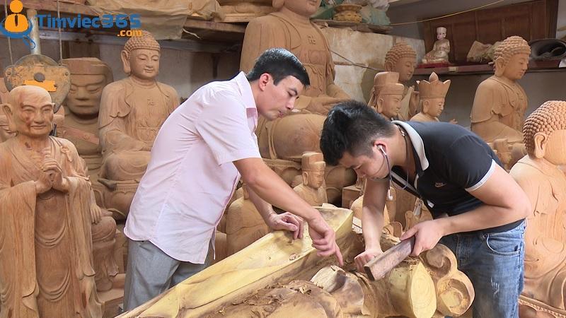 Kỹ thuật điêu khắc gỗ